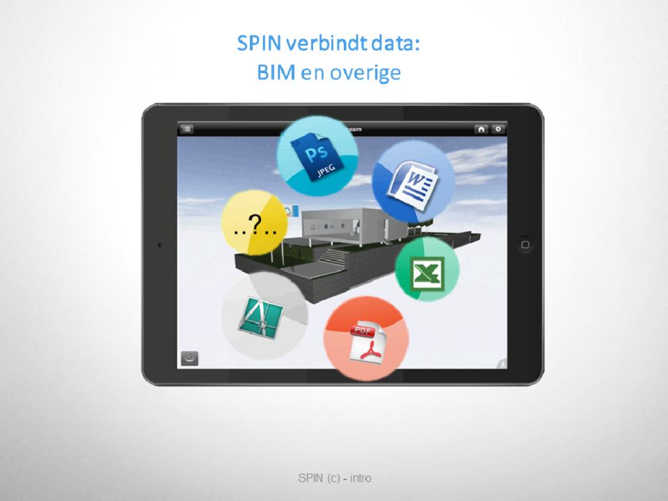 ► SPIN verbindt 3D-Model en overige documenten