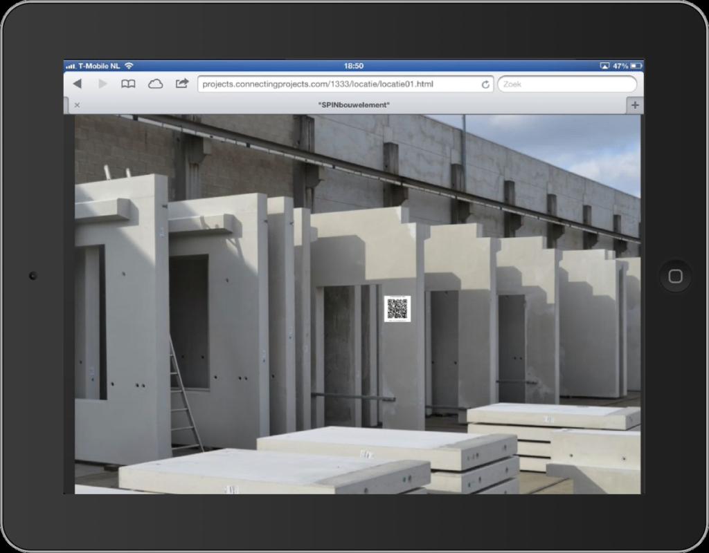SPIN QRcode: Tekeningen, Inbouwinstructie en Projectgegevens