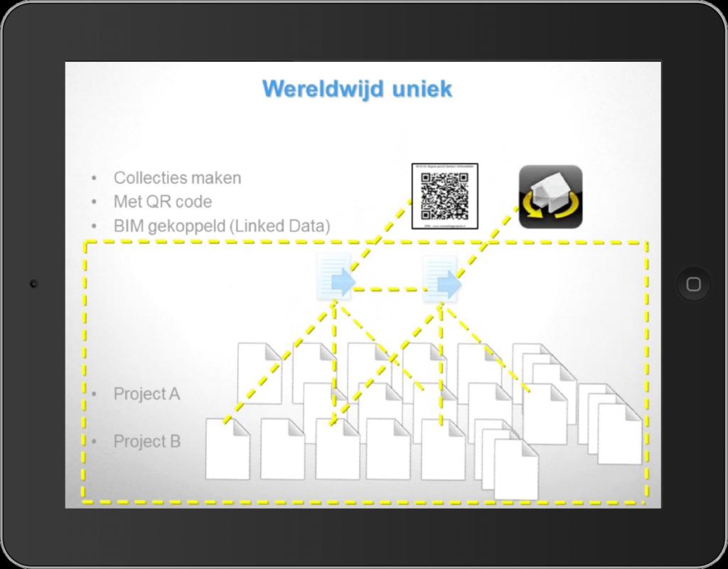 Collectie van unieke documenten koppelen aan BIM model